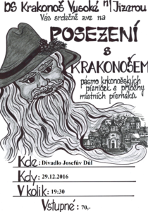 Posezení s Krakonošem @ Divadlo Josefův Důl
